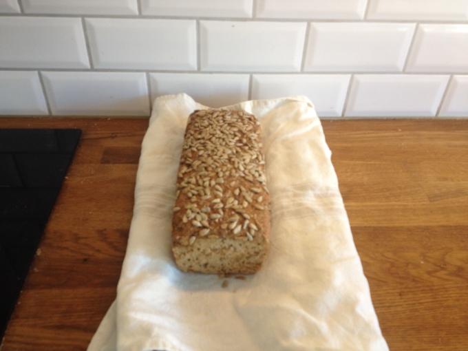 Rågbröd med Lin- och Solrosfrön